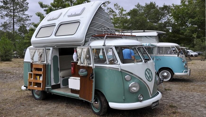 Van Camping Car Combi Volkswagen