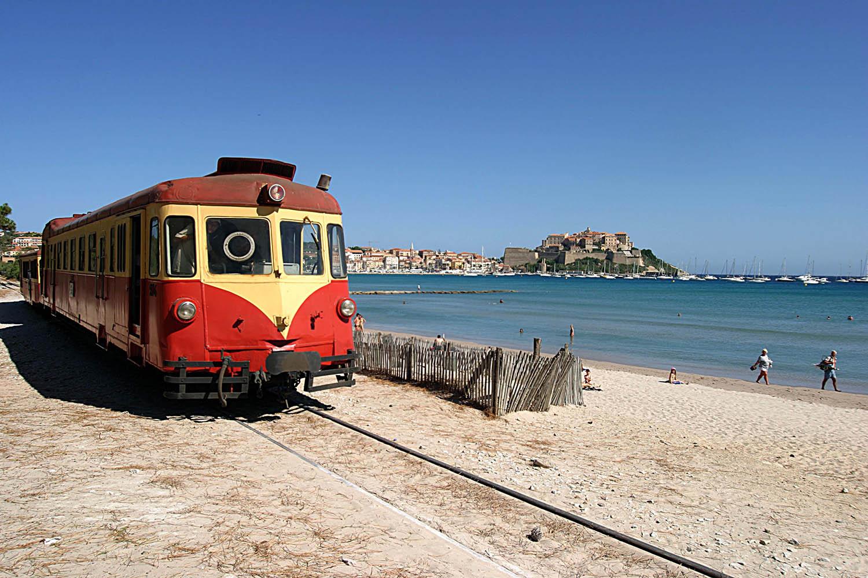 Train Corse Bastia Ajaccio